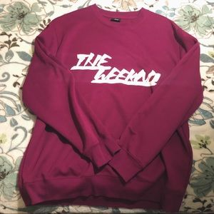 "Sweaters - The Weeknd ""oversized"" crew sweater"
